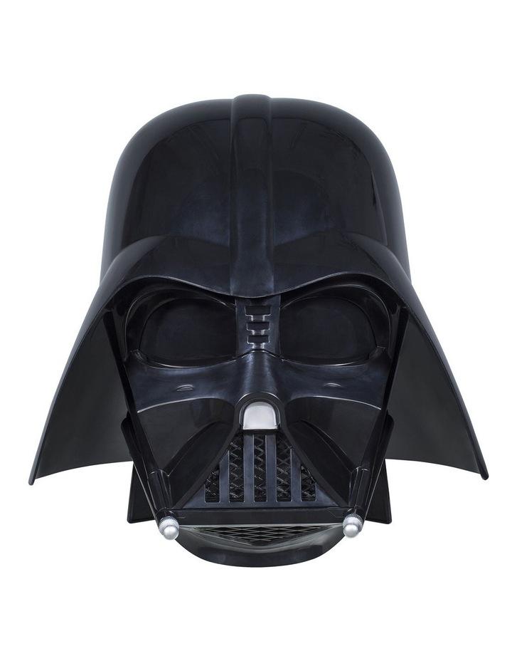 Black Series Darth Vader Premium Electronic Helmet image 3