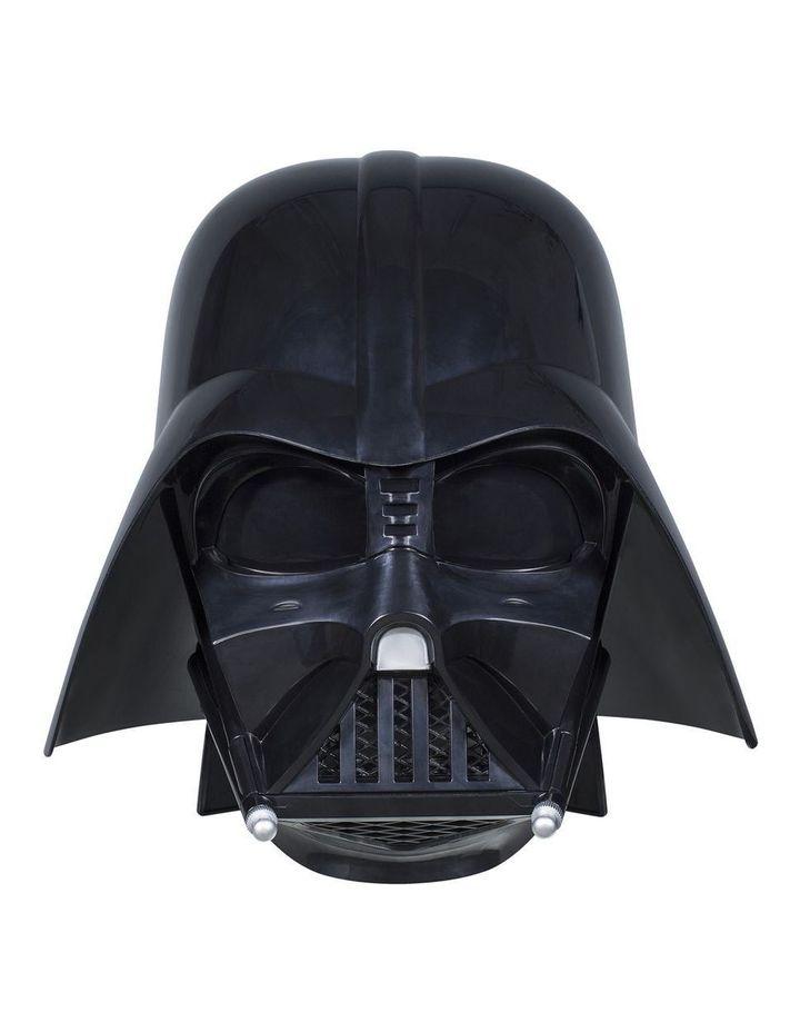 Black Series Darth Vader Premium Electronic Helmet image 4
