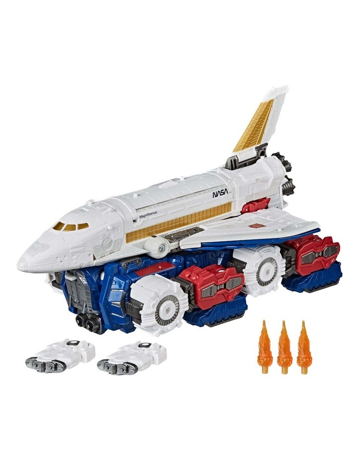 """TRANSFORMERS Generations - War for Cybertron Earthrise - Sky Lynz Leader Class 11"""" Action Figure image 1"""