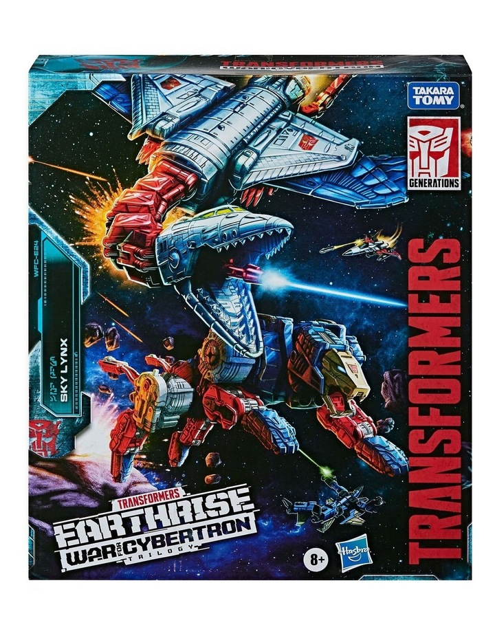 """TRANSFORMERS Generations - War for Cybertron Earthrise - Sky Lynz Leader Class 11"""" Action Figure image 2"""