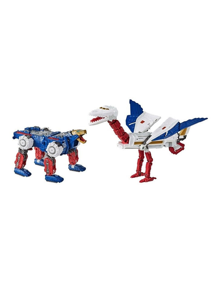 """TRANSFORMERS Generations - War for Cybertron Earthrise - Sky Lynz Leader Class 11"""" Action Figure image 7"""