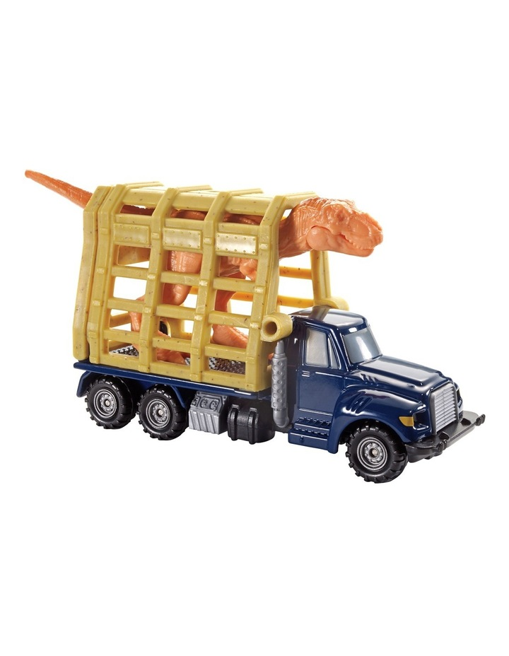 Match Box Jurassic World Dino Transporter image 1