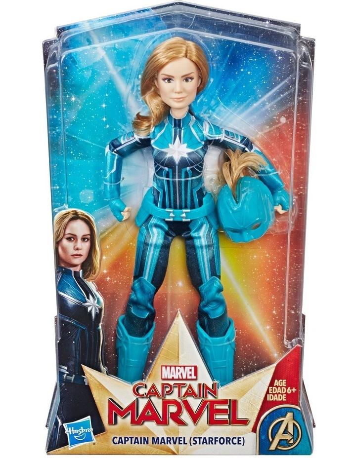 """Avengers Captain Marvel 11.5"""" Carol Danvers Star Force Doll image 1"""