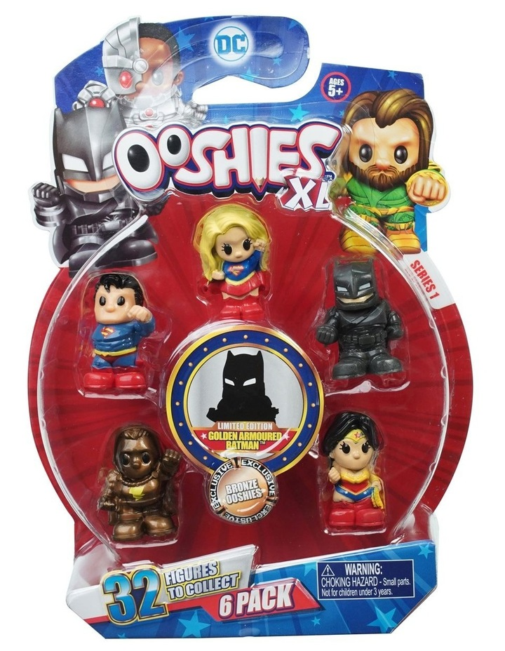 DC Ooshies XL - 6 Pack Assortment - Series 1 image 1