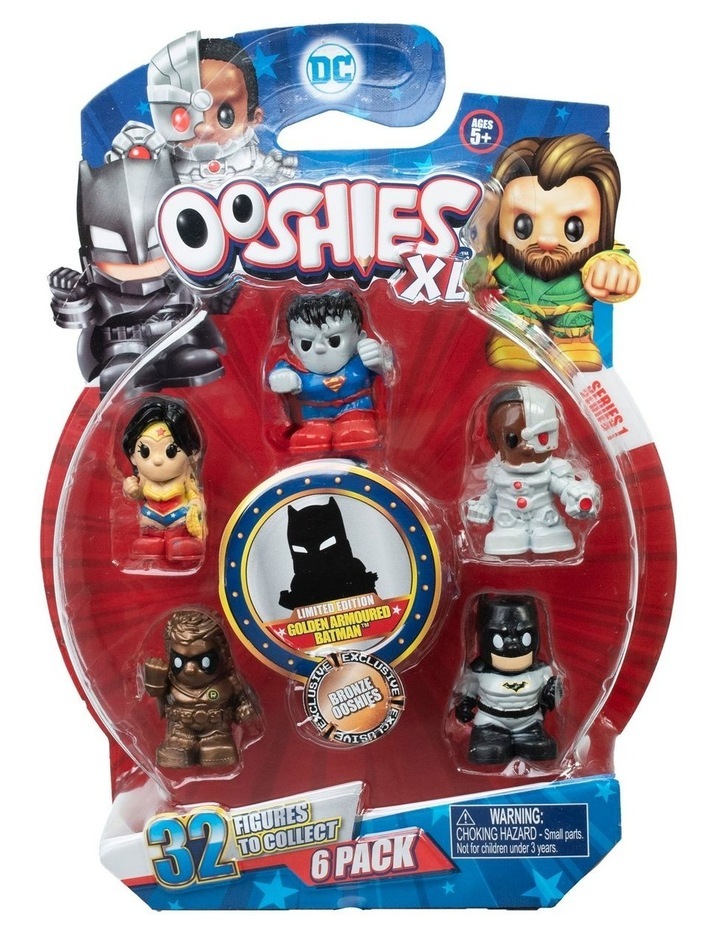 DC Ooshies XL - 6 Pack Assortment - Series 1 image 2