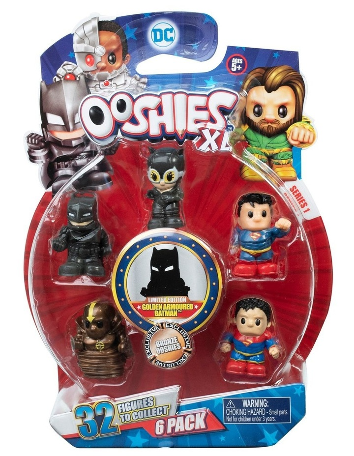 DC Ooshies XL - 6 Pack Assortment - Series 1 image 3