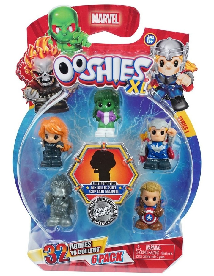 Marvel Ooshies XL - 6 Pack Assortment -Series 1 image 1