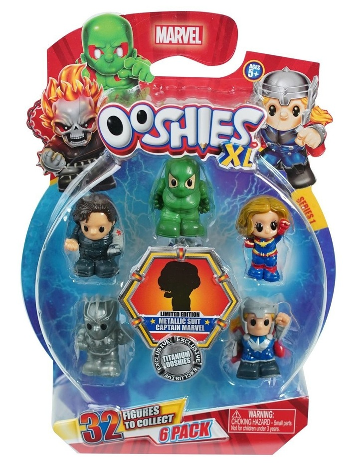 Marvel Ooshies XL - 6 Pack Assortment -Series 1 image 2