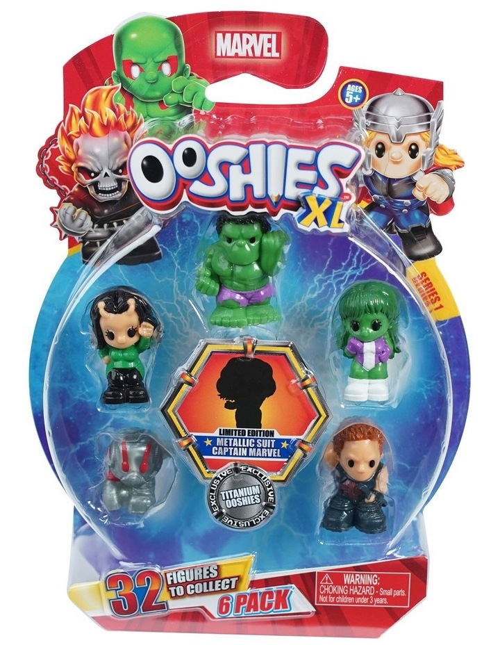 Marvel Ooshies XL - 6 Pack Assortment -Series 1 image 3