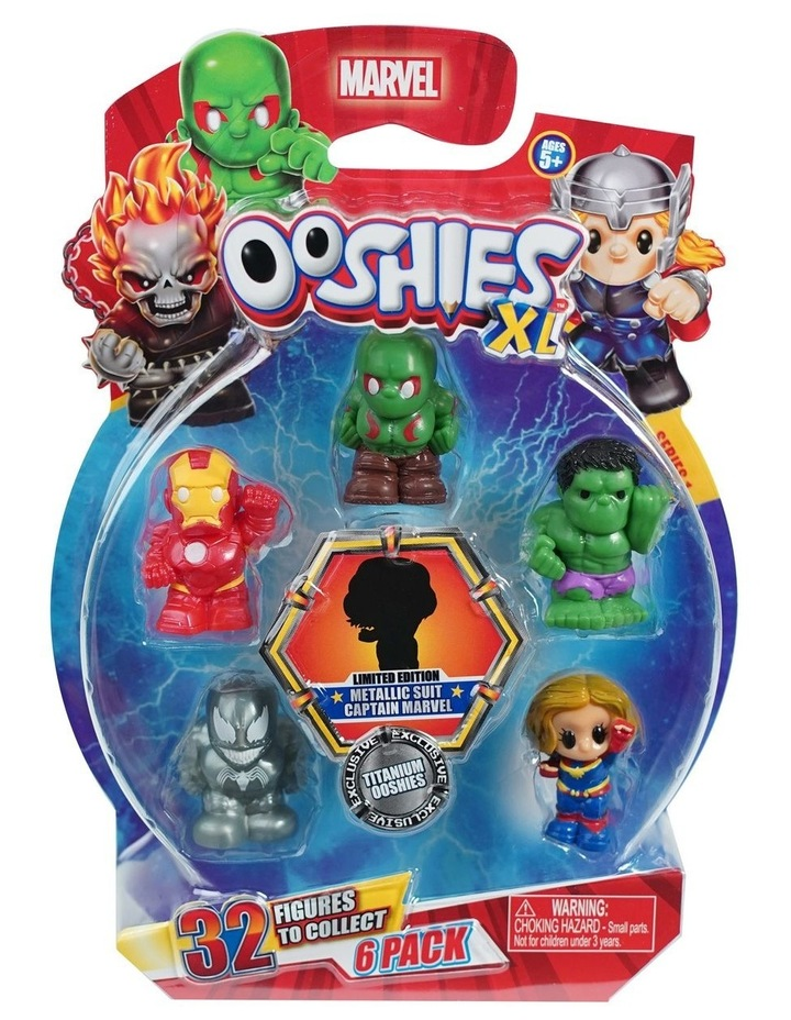 Marvel Ooshies XL - 6 Pack Assortment -Series 1 image 4