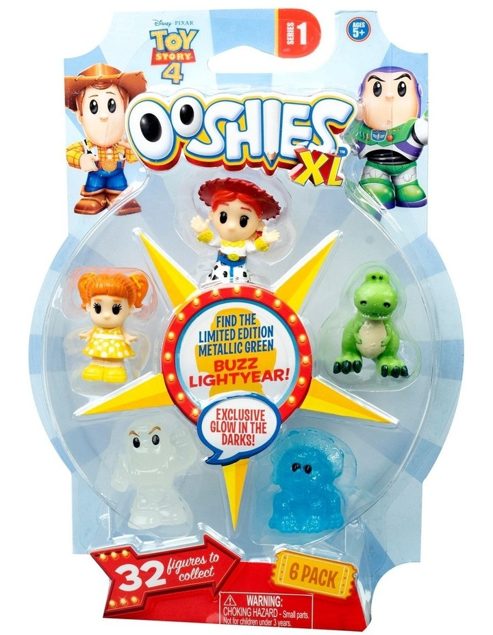 Toys Story 4 Ooshies XL Series 1 6 Pack Assortment image 1