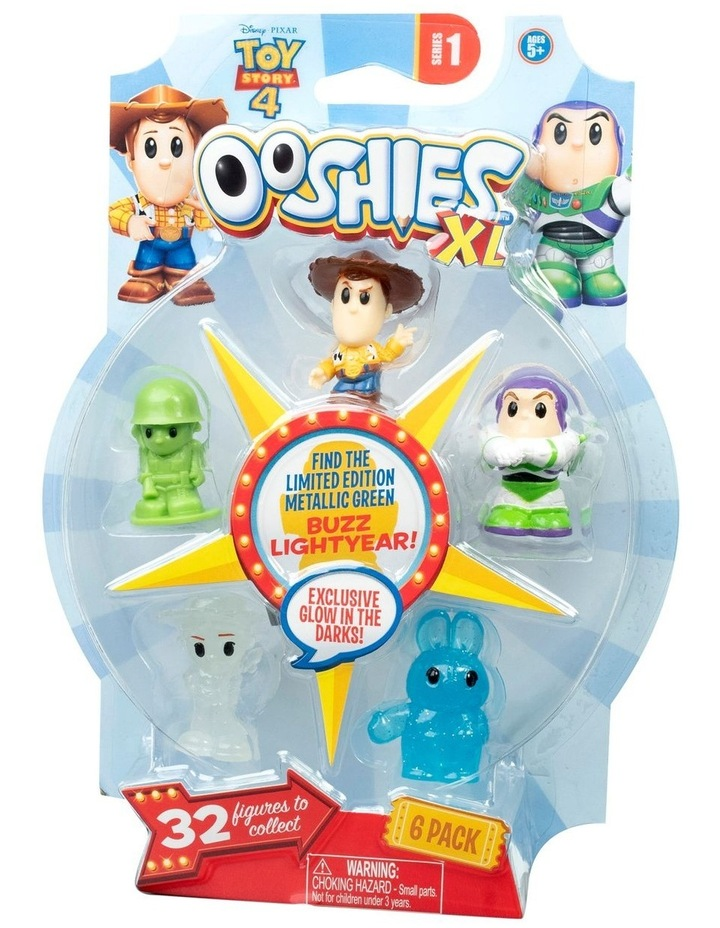Toys Story 4 Ooshies XL Series 1 6 Pack Assortment image 2