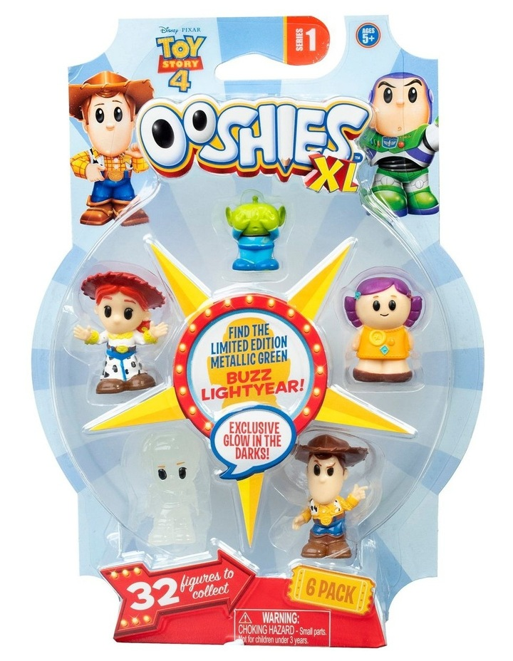 Toys Story 4 Ooshies XL Series 1 6 Pack Assortment image 4