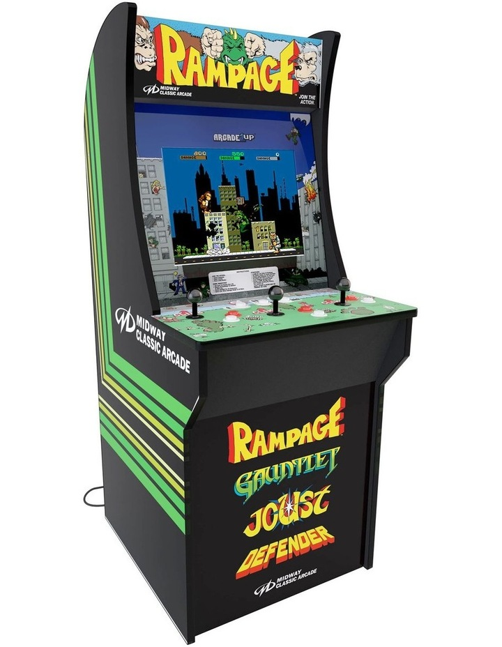 Rampage, Gauntlet, Joust and Defender image 1