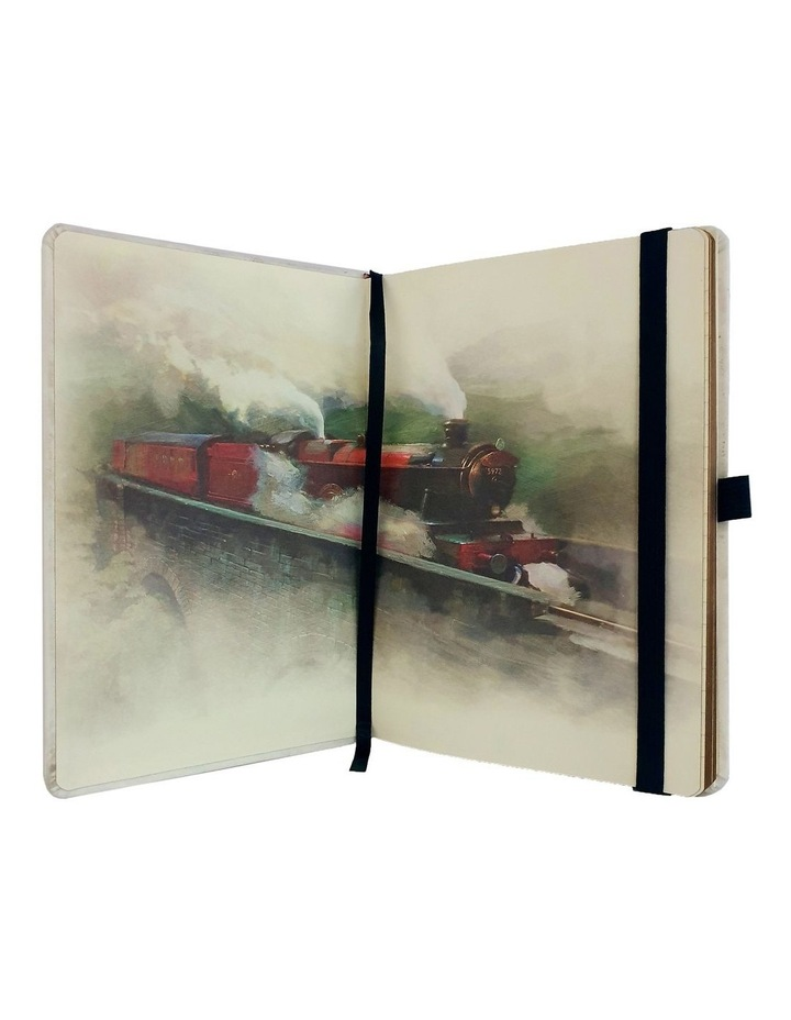 Hogwarts Express Ticket Premium A5 Notebook image 2