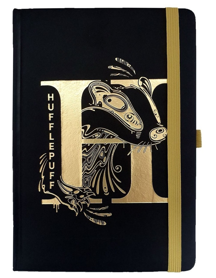 Hufflepuff Foil A5 Premium Notebook image 1