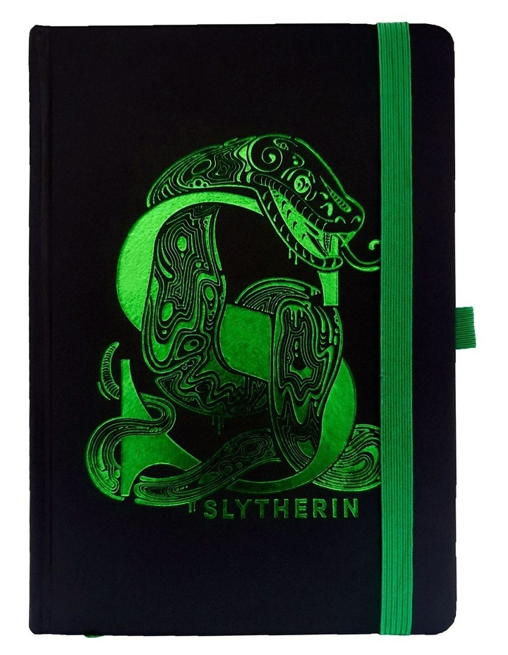 Slytherin Foil A5 Premium Notebook image 1