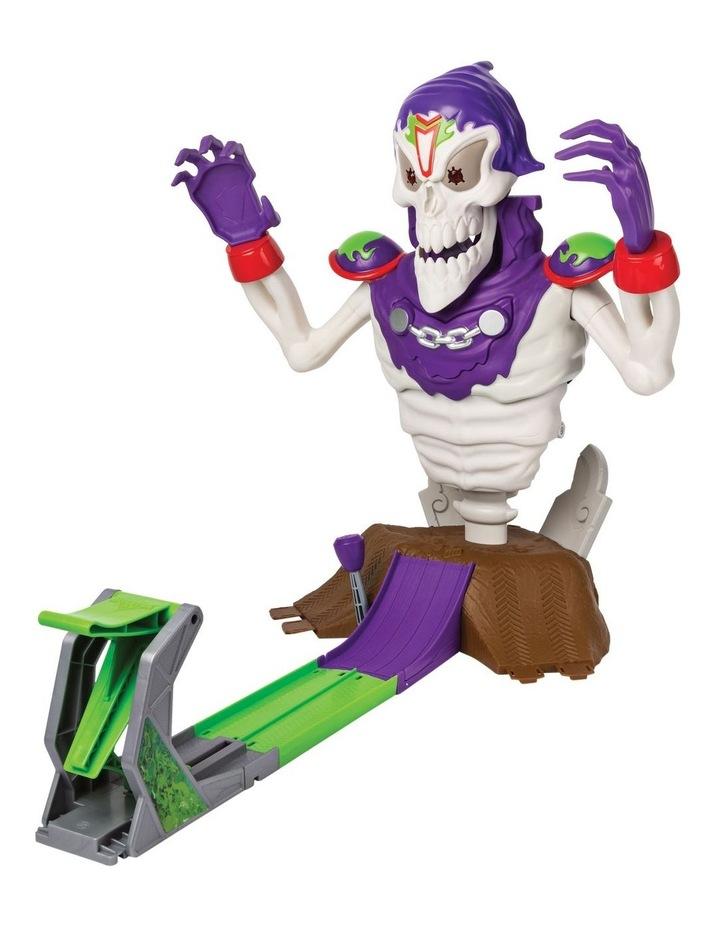 Monster Jam 1:64 Grim Take Down Playset image 3