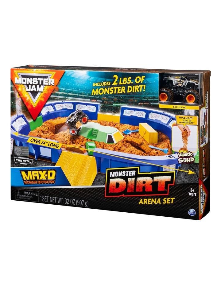 Monster Jam Kinetic Dirt Arena Playset image 2
