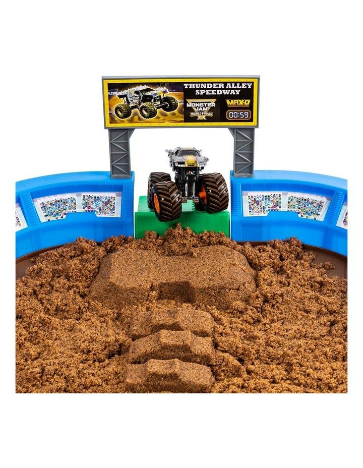 Monster Jam Kinetic Dirt Arena Playset image 4