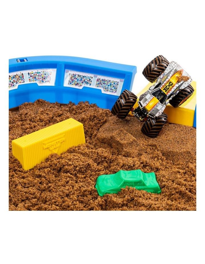 Monster Jam Kinetic Dirt Arena Playset image 5