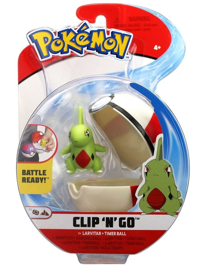 Clip and Go Pokeball Assortment image 3