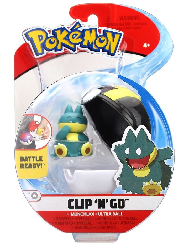 Clip and Go Pokeball Assortment image 5