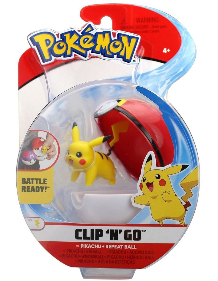 Clip and Go Pokeball Assortment image 6