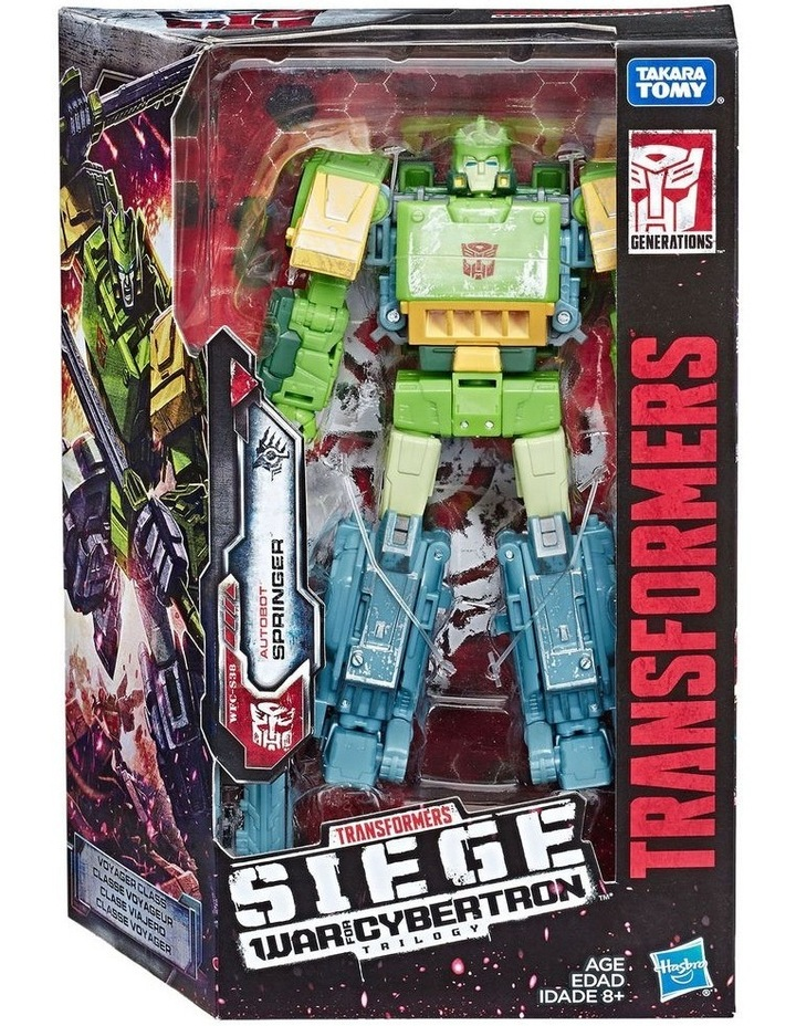 """Generations War for Cybertron Voyager Class 7"""" Action Figure Assortment image 6"""