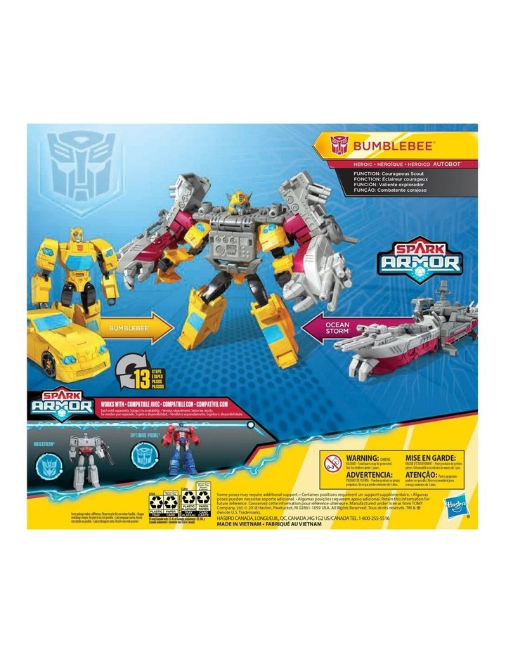 Cyberverse Power of the Spark - Spark Armor Action Figure - Assortment image 4