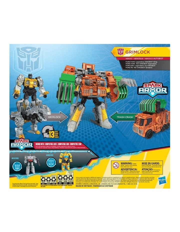 Cyberverse Power of the Spark - Spark Armor Action Figure - Assortment image 5
