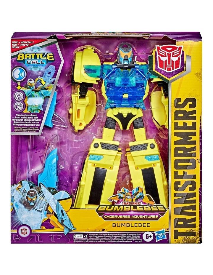 "Bumblebee Cyberverse Adventures 10"" Action Figures - Assortment - Optimus Prime - Bumblebee image 4"