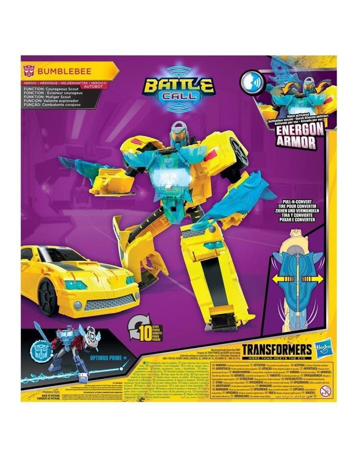 "Bumblebee Cyberverse Adventures 10"" Action Figures - Assortment - Optimus Prime - Bumblebee image 5"