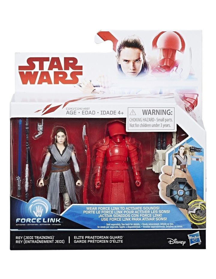 Galaxy 3.75in Deluxe Force-Link Figures 2-Pack Assorted image 1