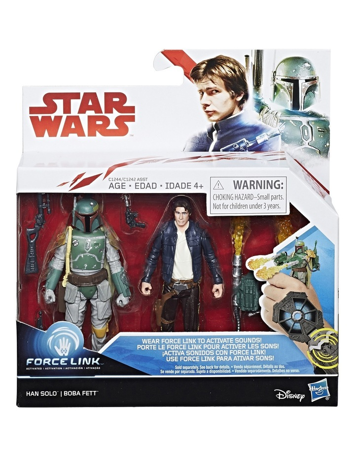 Galaxy 3.75in Deluxe Force-Link Figures 2-Pack Assorted image 2