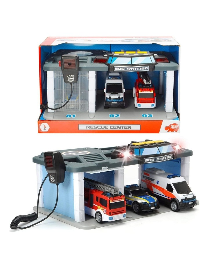 Rescue Center with Lights and Sound Playset image 1