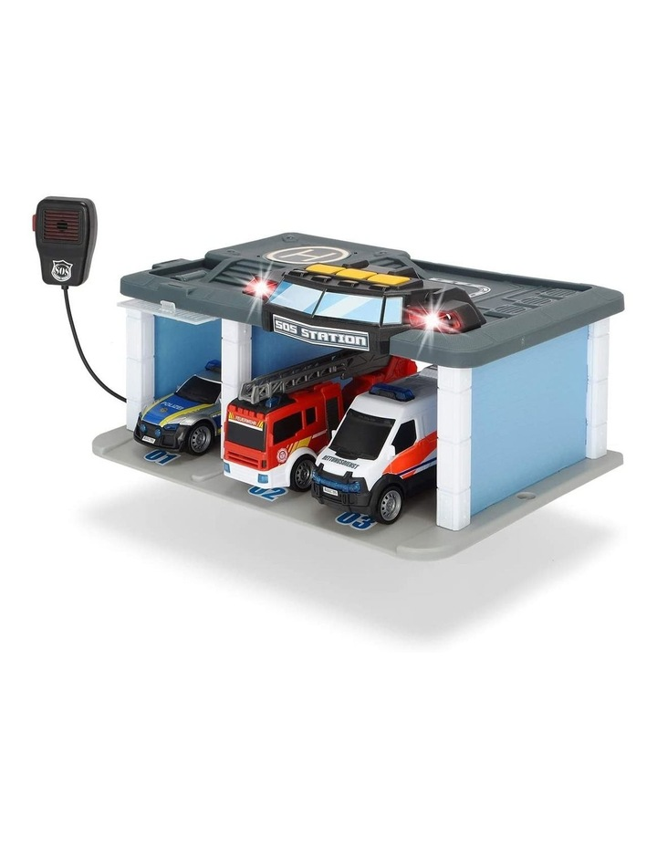 Rescue Center with Lights and Sound Playset image 2