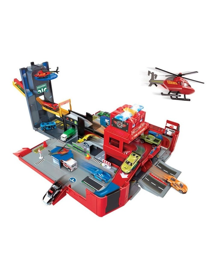 Folding Fire Truck Playset image 2