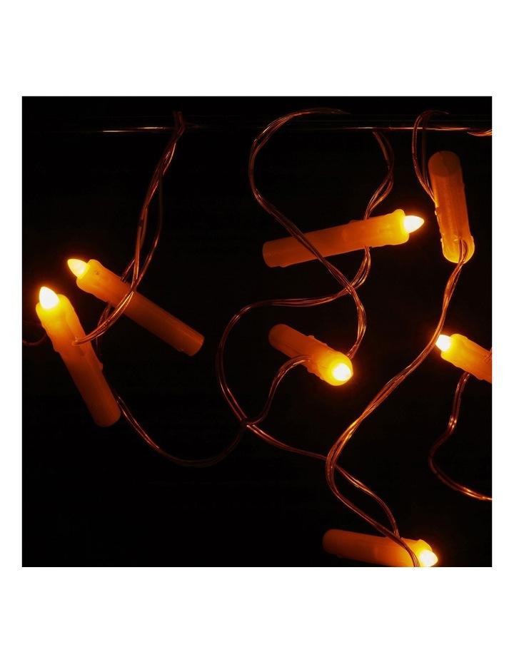 Floating Candle String Lights image 2