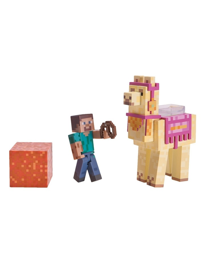 Steve with Llama Pack image 2