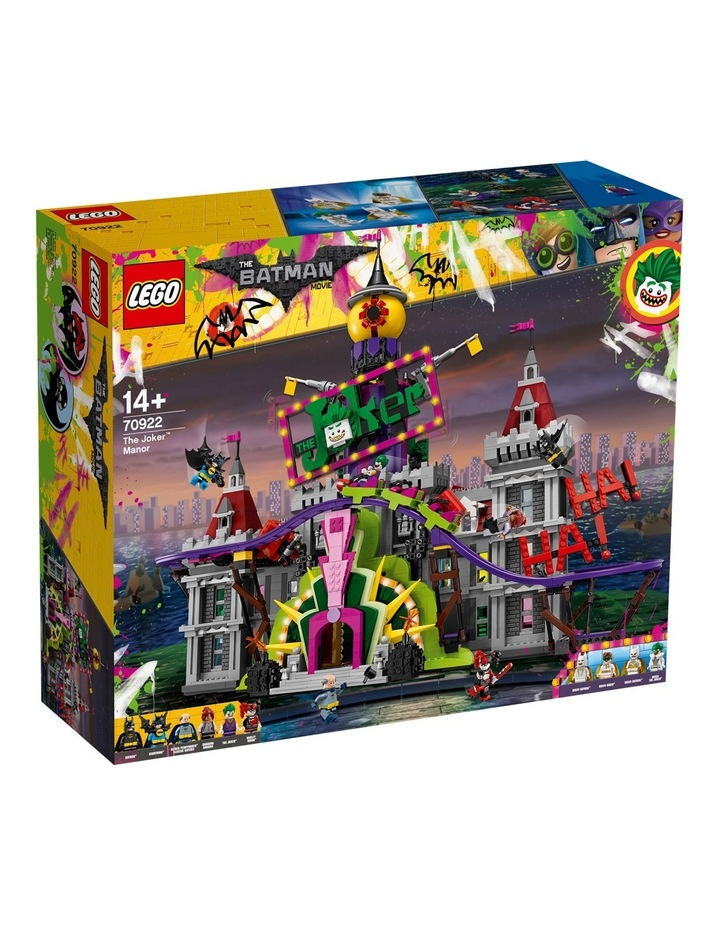 Batman Movie The Joker Manor 70922 image 1