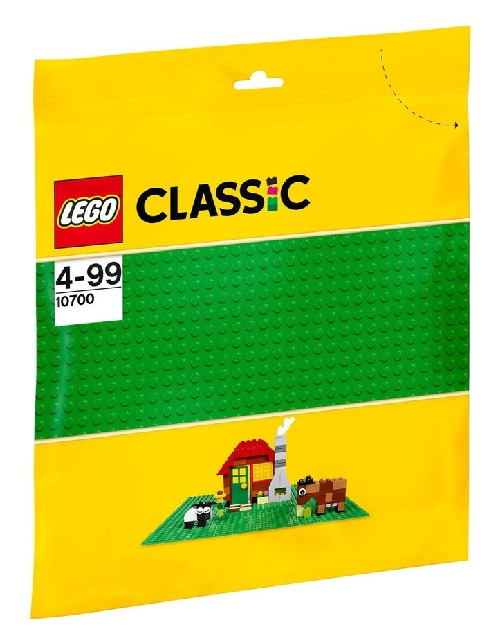 Classic Green Baseplate 10700 image 1