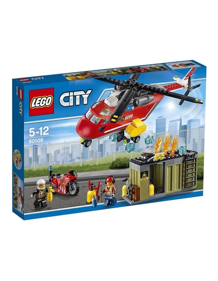 City Fire Response Unit 60108 image 1