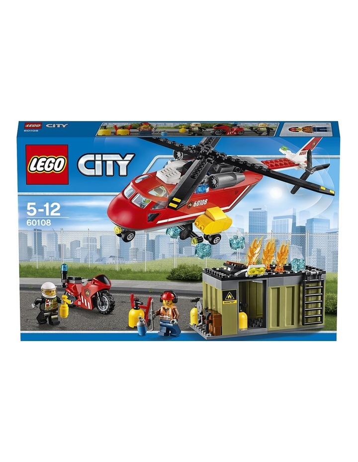 City Fire Response Unit 60108 image 2