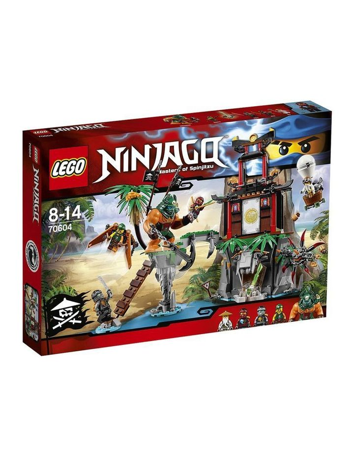 Ninjago Tiger Widow Island 70604 image 1