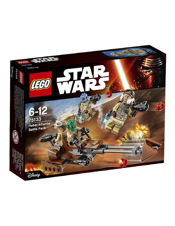 Star Wars Rebel Alliance Battle Pack 75133 image 1