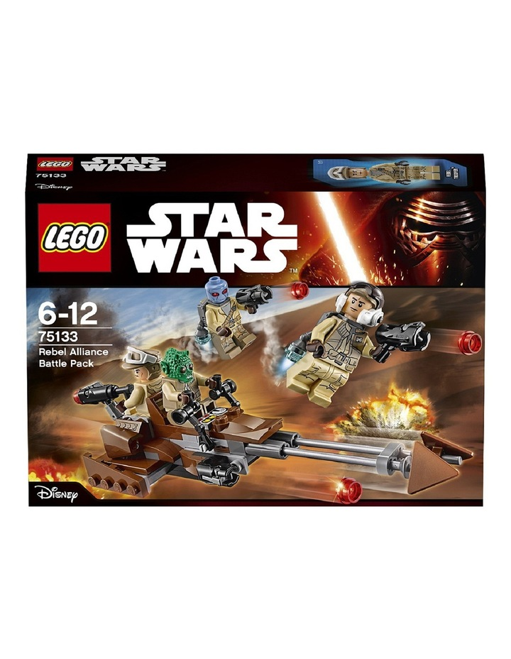 Star Wars Rebel Alliance Battle Pack 75133 image 2