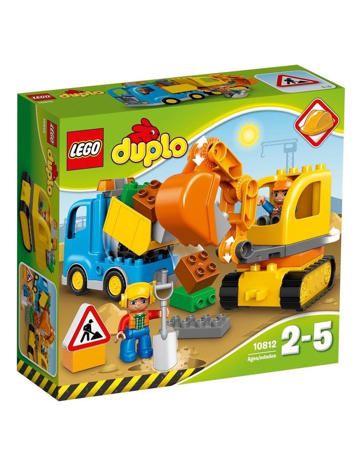 Duplo Truck & Tracked Excavator 10812 image 1