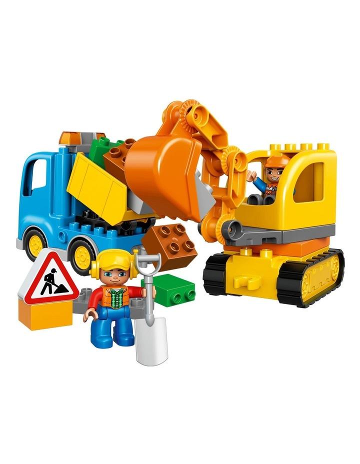 Duplo Truck & Tracked Excavator 10812 image 2