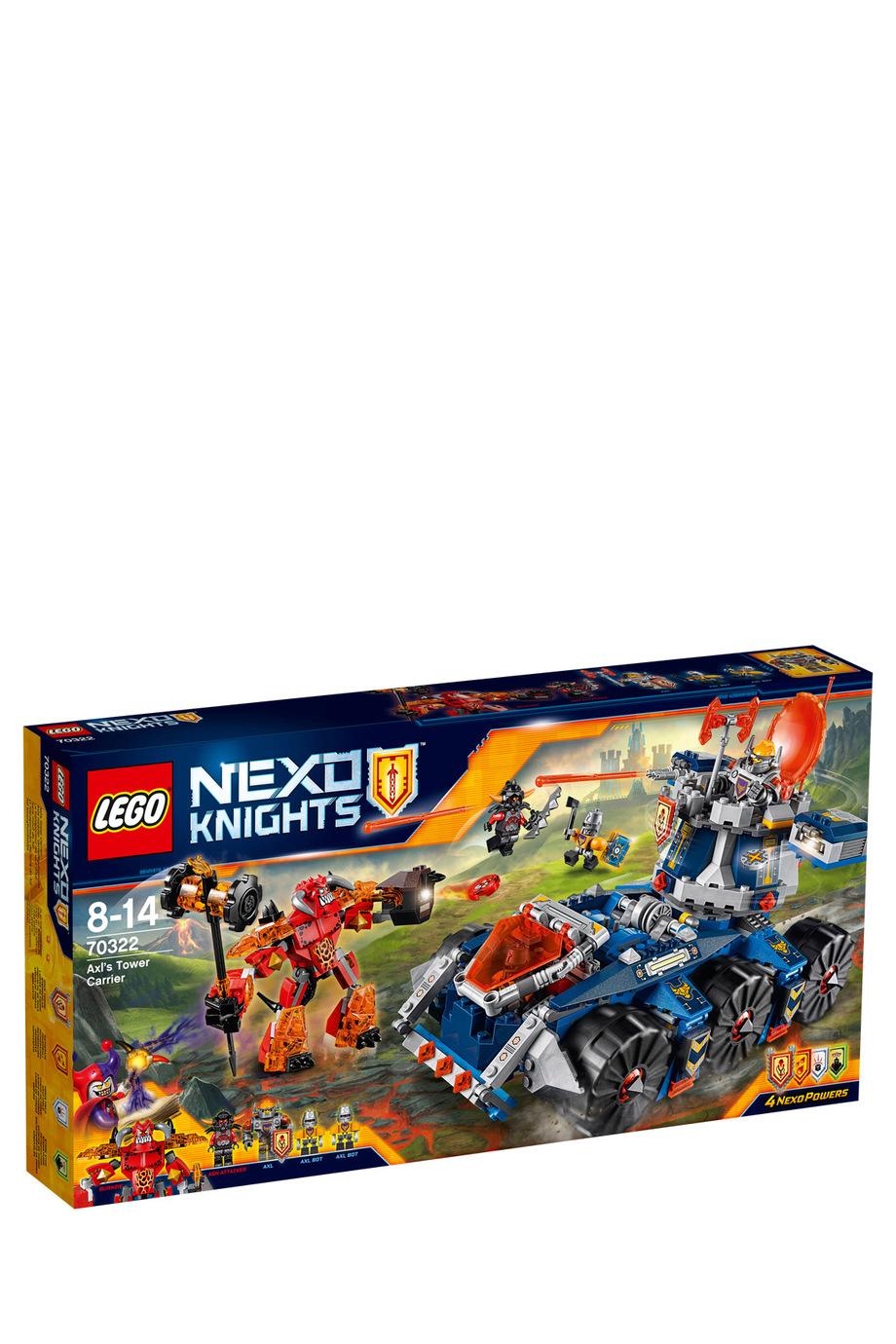 LEGO | Nexo Knights Axl\'s Tower Carrier 70322 | Myer Online